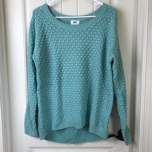 Old Navy Mint Sweater